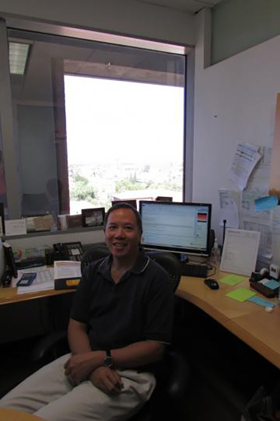 Professor Elliot Cheu